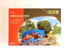 Faller H0 140341, Kirmes-Set mit Polyp, neu, OVP