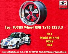 1 cerchio Porsche Felge Fuchs style 7x15 RSR ET23.3 Porsche 911 TÜV wheel