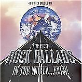 Various : The Best Rock Ballads in the World... Ev CD FREE Shipping, Save £s