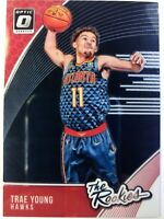 2018 18 Panini Optic The Rookies Trae Young Rookie RC #5, Atlanta Hawks