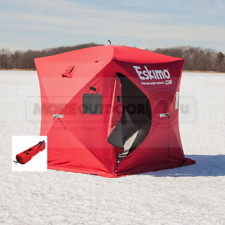 69143 NEW Eskimo QuickFish 3 Man Ice Shelter Fishing Shanty Portable Tent Shack