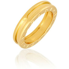 bvlgari bzero1 yellow gold single band size 65 ring 335979s53