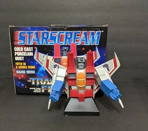 Starscream Artist Proof 758/5000 Hard Hero Bust Transformers Limited