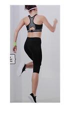 TCM Tchibo Damen Sport Tight Hose Sporthose schwarz atmungsaktiv L 44 46