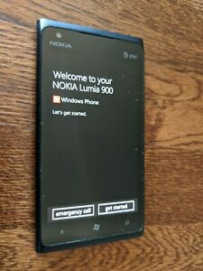 Nokia Lumia 900 - 16GB - Black (AT&T) (900.1) - Windows Smart Phone - Excellent!