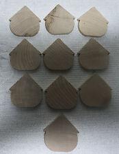 WOOD CUT OUT BIRDHOUSE shape Craft supplies set 10 NEW magnet ornament