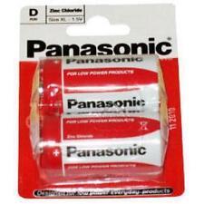 Panasonic Standard D Size Non Rechargable Primary Zinc Carbon Battery Twin Pack