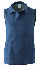 61ac265713a4 Grembiule Donna Scamiciato Poncho Color Jeans Panificio Pasticceria Taglia  Unica
