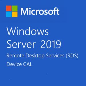 Desktop Services-Windows Server 2019 Standard/Datacenter-50 User/Device RDS CALs