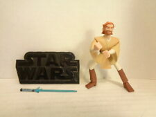 2003 Hasbro Star Wars Clone Wars Animated Obi-Wan Kenobi Action Figure Complete