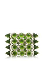 Eddie Borgo 4 Row Cone Cuff Bracelet for Hunger Games and Victoria Secret- Green