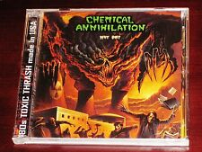 Chemical Annihilation: Why Die? CD + DVD Set 2009 Stormspell USA SSR-DY22 NEW