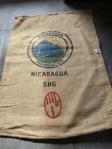 sac toile de jute café
