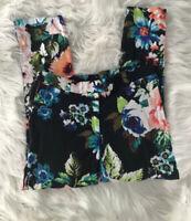 H& M Women's Floral Pants Size 6