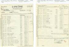 Dépt 92 - Courbevoie 60 Av Marceau & Paris VIII ème - Parfumerie Lancôme de 1951