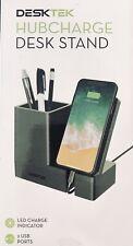 DeskTek Hubcharge Desk Stand / iPhone Stand / 2 Device Charger