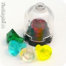 U131A Lego 5 Pieces Different Diamonds in the Dome NEW