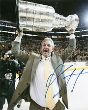 Darryl Sutter Stanley Cup KINGS Signed Auto 8x10 PHOTO COA