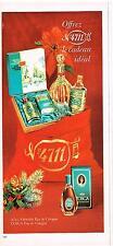 PUBLICITE  1969  TOSCA  eau de COLOGNE
