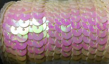 Sequin Trim  6mm Strung  Hologram 12 Colours