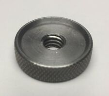 """Stainless Steel Knurled Nut 5/16-18 5/16"""" x 18tpi Quantity 10"""