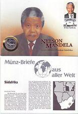 Numisbrief - Südafrika / South Africa 5 Rand 1994 PROOF - mit Zertifikat