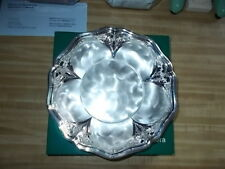 Vintage WMF IKORA Germany Silver-plated Dish Bowl Footed 10""