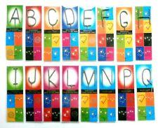 Wondercandle Wunderkerze ABC Buchstaben 100% handmade Made in Deutschland
