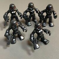LOT 5  Playskool Star Wars Galactic Heroes Imperial Death Trooper Action figures
