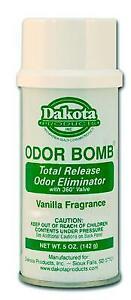 Dakota Odour Bomb - Car Air Freshener, Odor Eliminator - Vanilla - Best