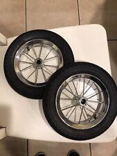 Schwinn Roadster Tricycle Part: REAR WHEEL, TUBE, & TIRE.  SET of 2.