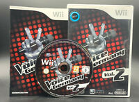 """NINTENDO WII SPIEL"""" THE VOICE OF GERMANY Vol. 2 """" OVP + ANLEITUNG"""