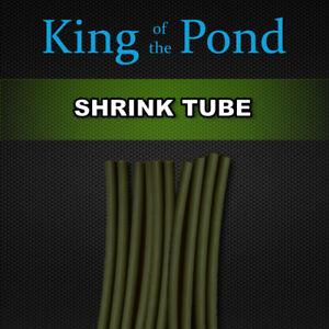 x2 packets of 1.6mm Dark - green shrink tube - carp fishing, carp rigs