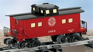 American Flyer 6-48736 S Scale Western Maryland Illuminated Caboose EX/Box