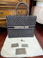 CHRISTIAN DIOR OBLIQUE LARGE EMBROI