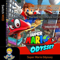 Nintendo Super Mario Odyssey(Switch Mod)-Game is not included!!!