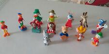 Lote de 13 figuras dibujos animados, Disney.. Ferrero Kinder Figurine. Figure.