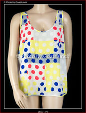 City Chic Spotty Cami Top Size 16 (Small) NWOT Smart Casual Layering Travel