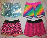 New Size 8 MC Medium Child Dance Gymnastics Shorts for Leotard Reflectionz Girls