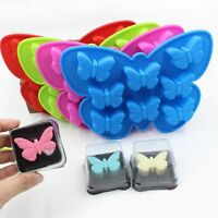 3D Butterfly Silicone Cake Mold Candy Chocolate Soap Cookies DIY Baking Mould
