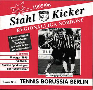 RL 1995/96 EFC Stahl Eisenhüttenstadt - Tennis Borussia Berlin, 11.08.1995