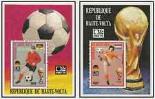 Timbres Sports Football Haute Volta BF5U/V * lot 21485