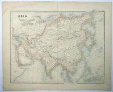 Asia-Asia Swanston-Fullarton & Co., 1852-1856 Map Card