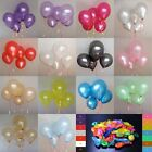 100 pcs 10 inch Colorful Pearl Latex Balloon Celebration Party/Wedding/Birthday