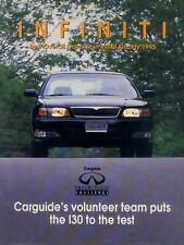 Infiniti i30 folleto estados unidos carguide 1995 brochure auto folleto folleto Catalog