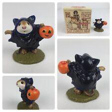 Wee Forest Folk M-154 Bat Mouse Halloween Trick or Treat Annette Petersen
