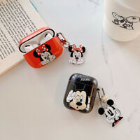 Mickey Minnie Earphone Cover for Apple Airpods Pro 2 1 Charging Case Holder Bag