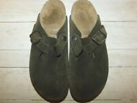 BIRKENSTOCK BROWN CLOGS SLIDES SIZE 38 US 7