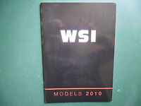 WSI CATALOGUE 2010 FORMAT 29,7 cm X 21 cm  64 PAGES RARE !.....