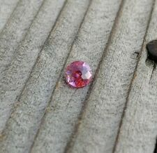 Round Ruby Red Pink Mix USA Precision Cut 4.6mm .43ct